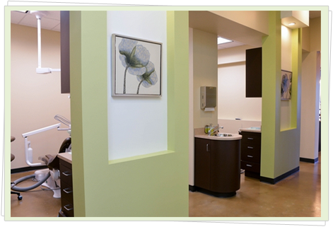 Exam Room of Olive Dental Group